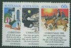 AUS SG828-30 Christmas 1981 set of 3